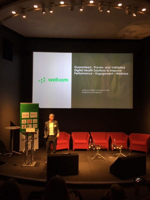 Anthony Philips from Wellkom