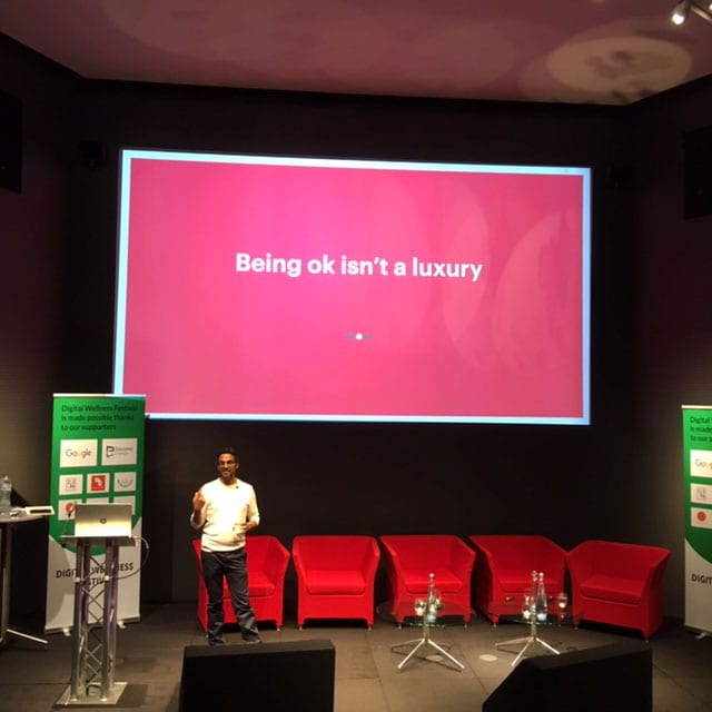 Rohan Gunatillake from Buddhify; Being OK isn't a luxury