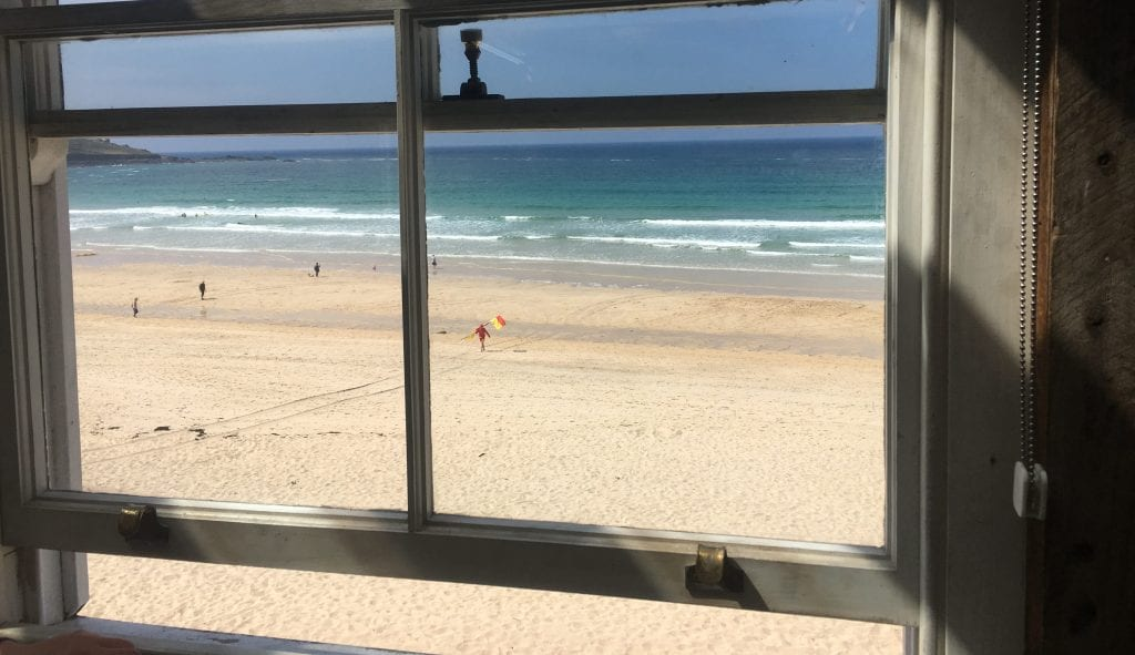 A View from Porthmeor Studios