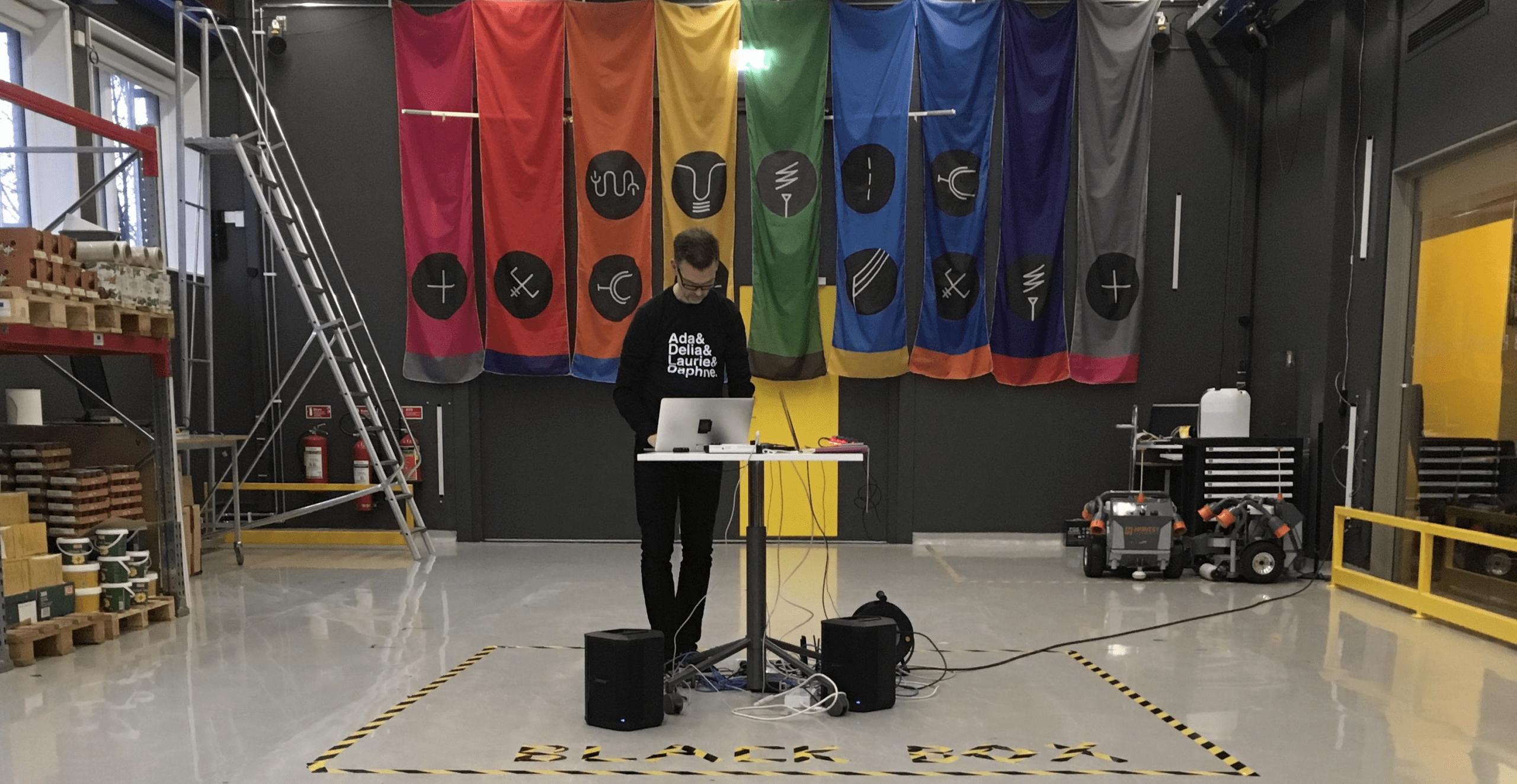Robotics laboratory to reactive dance space