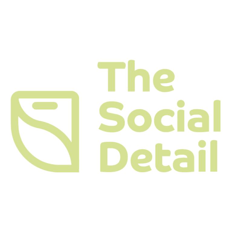 the social detail logo